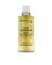 Sparkling oil with Spiced fragrance, Huile Scintillante