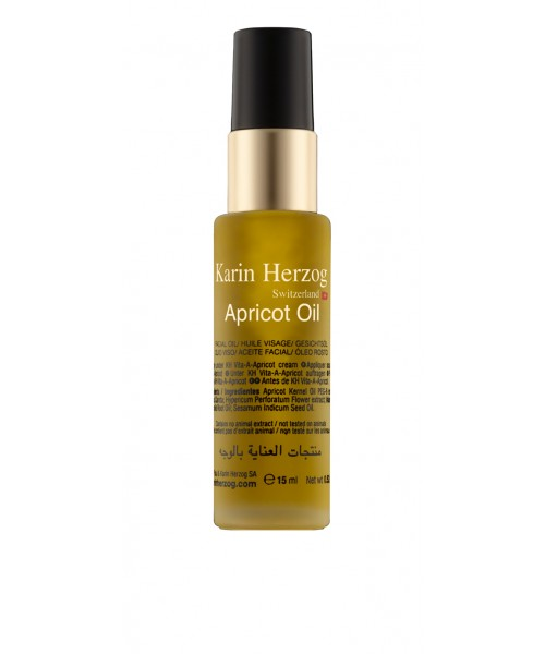 Dry nourishing face oil, Apricot Oil