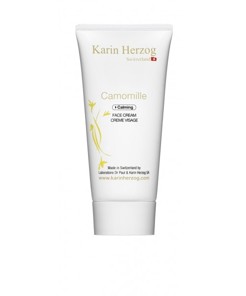 Moisturizing face cream with Chamomile, Camomille