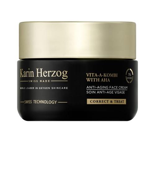 Crème antir-rides pour peau mature, Vita-A-Kombi with AHA