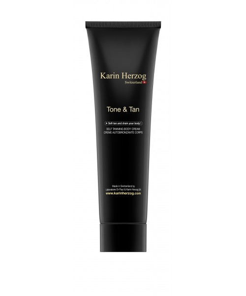 Selftanning body and face cream, Tone & Tan