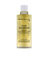 Sparkling oil with Spiced fragrance, Huile Scintillante