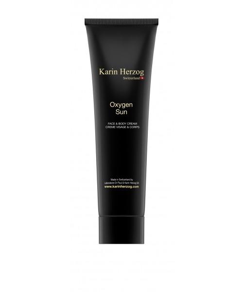 Crème pour le visage et le corps accélératrice de bronzage, Oxygen Sun